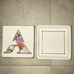 jewelry box | monogrammed